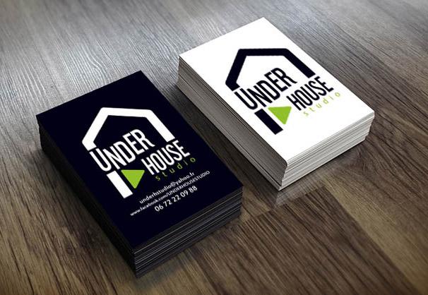 Carte de visite Underhouse Studio